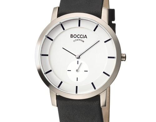 Boccia Heren horloges Titanium